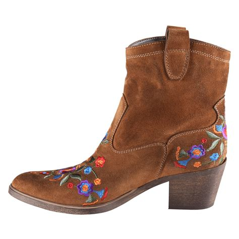 embroidered cowboy boots shoeniverse fnsa aldo brown limeira embroidered cowboy