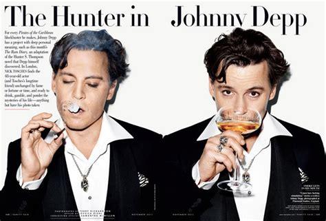 johnny depp terrible with vanity fair