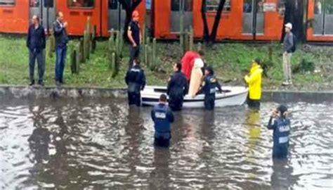 imagenes inundacion indios verdes reportan importantes inundaciones en ciudad de m 233 xico