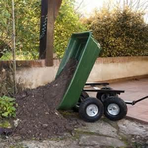 chariot de jardin 4 roues outils de jardin chariot pour