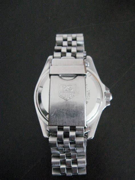 Uhrenarmband Polieren Kosten by Fragen Zur Tag Heuer 1000 Professional Quartz Uhrforum