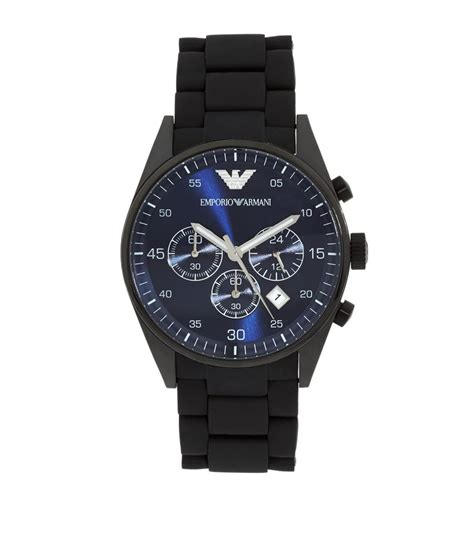 emporio armani sports ar5921 in black for lyst