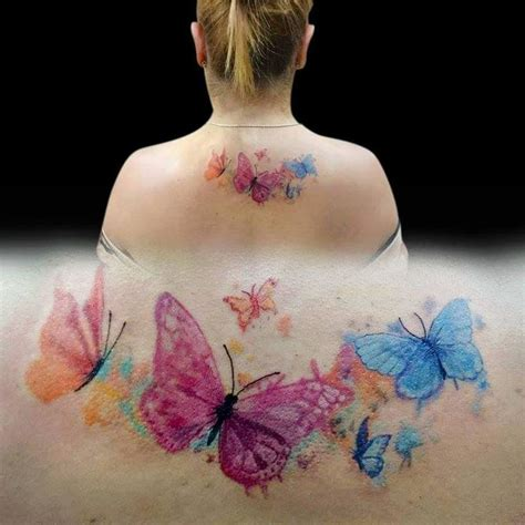 butterfly watercolor tattoo 25 best ideas about watercolor butterfly on