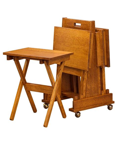 tv tray end table tv tray tables liam redding end table mission folding tv