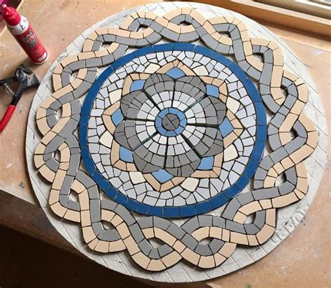 mosaic table top kit 25 best ideas about mosaic designs on mosaic