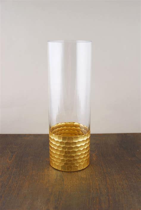 12 Cylinder Vase by Elsa Glass Floral Vase 12x4