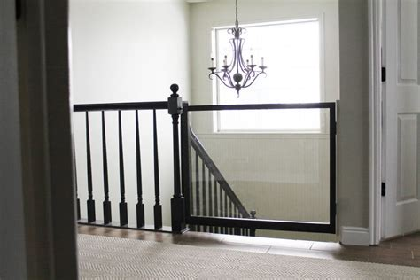 Stairwell Banister A Diy Baby Gate Chris Loves Julia
