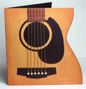 guitar birthday card for your guitarist friends scrapbooking store