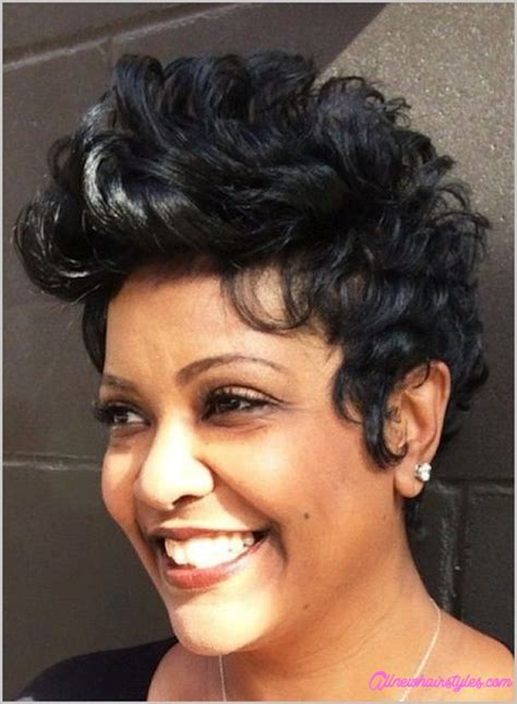 short haircuts for thick ethnic hair short cuts for thick hair black women allnewhairstyles com