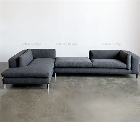 Modern Lobby Sofa Design L Shape Corner Fabric Heated Sofa Modern L Shaped Sofa