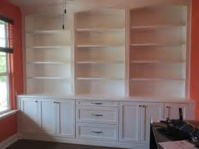 built cabinets: custom home office built in shelves and cabinets borders woodworks