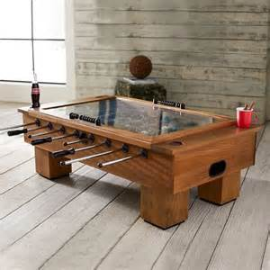 Coffee Foosball Table Foosball Coffee Table Contemporary Coffee Tables By