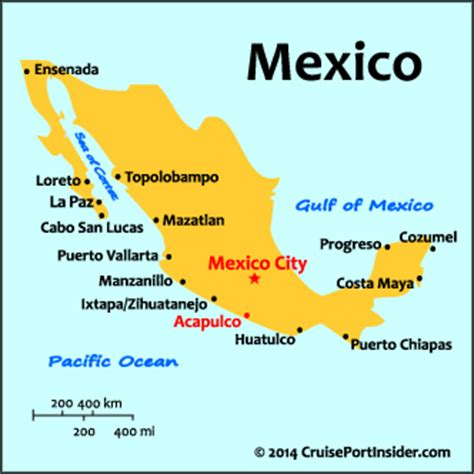 map acapulco mexico cruiseportinsider acapulco basics
