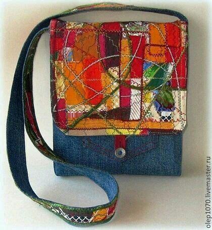 Denim Patchwork Bag Patterns Free - 25 unique denim bag patterns ideas on diy