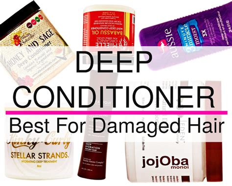 what is the best conditioner for damaged hair ehow natural hair for beginners deep conditioner best for