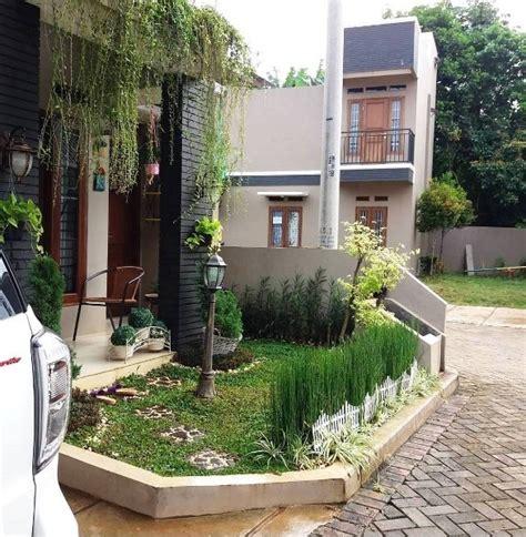 desain taman rumah minimalis depan rumah sederhana ndik home