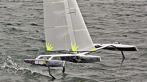 foiling catamaran for sale australia 40 mini rc foiling tris catamaran racing news design