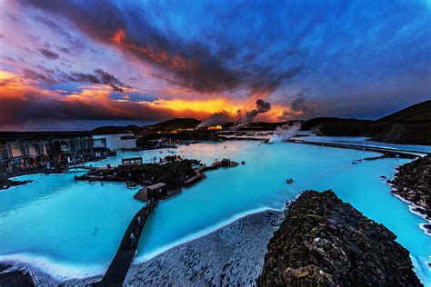 Sunset Reykjavik by The Golden Circle Amp Blue Lagoon Day Tour Of The Famous Sites