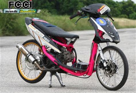 Beat Modification Drag by Modifikasi Motor Drag Thailand Racing Look Oto Trendz