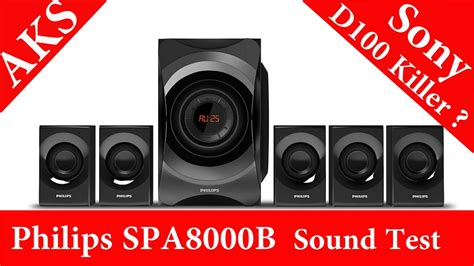 philips home theatre spab  unboxing sound test