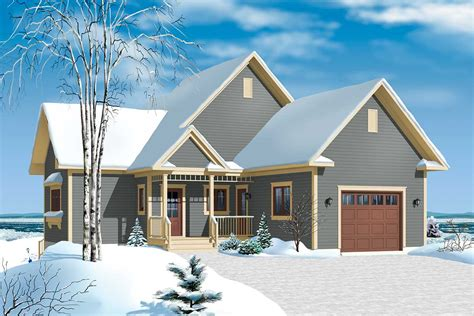 Panoramic View Chalet Dr Architectural Designs