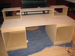 Free Building Plans For Toy Boxes by Diy Desk Build Inspired By Many Gearslutz Pro Audio Community