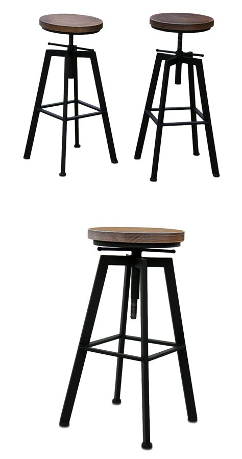 screw top bar stools stool on screw design luxury loft bar retro vintage style