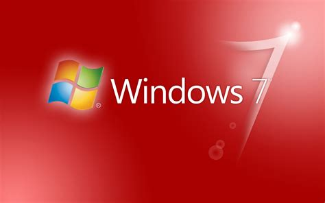 wallpaper for windows 7 themes windows seven red theme wallpapers and images wallpapers