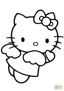 hello kitty devil coloring pages hello kitty angel coloring page free printable coloring