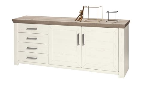 Musterring Sideboard by Set One By Musterring Sideboard York 166 Wei 223 166 Ma 223 E Cm B