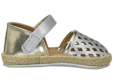 toddler espadrille sandals baby deer metallic espadrille sandal infant at zappos