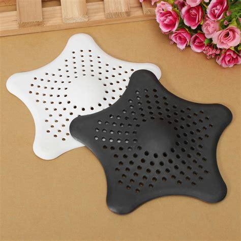 Best Shower Drain Hair Catcher by Rubber Starfish Hair Strainer Shower Drain Cover Hairs