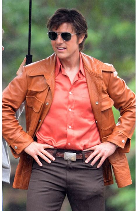 film tom cruise american american made tom cruise jacket barry seal leather