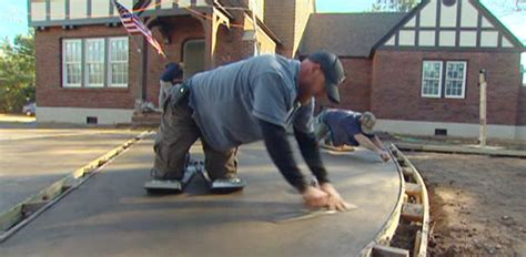 Lovely Garage Slab Thickness #7: 743-5-how-color-concrete-when-pouring-concrete-driveway.jpg