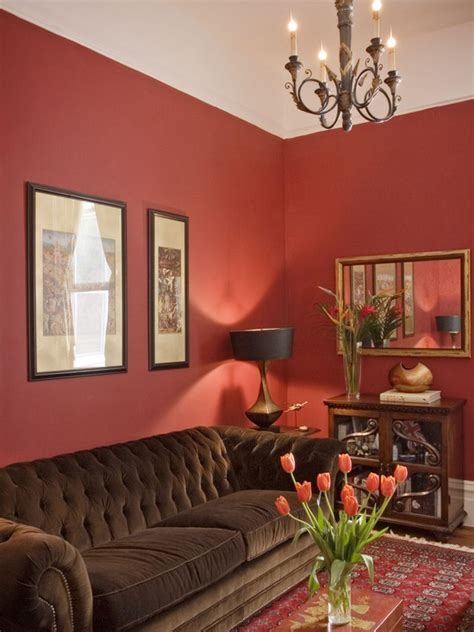 chocolate brown and red living room red and brown living room design ideas pictures remodel