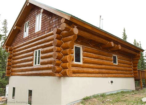 Log Cabin Maintenance by Log Home Maintenance Colorado 970 368 2308