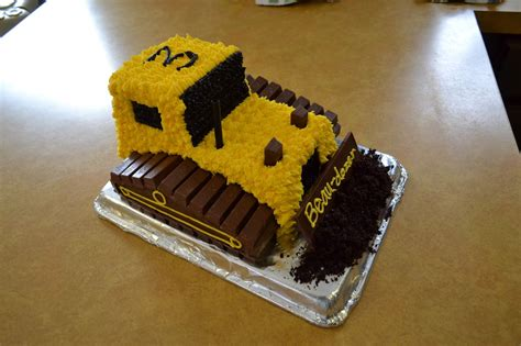 cake directions school of natalie bulldozer cake with kit kats