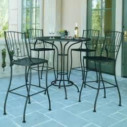 Bistro Patio Table And Chairs Set Patio Bistro Table And Chair Set Outdoor Pub And Bistro Sets Chicago By Home Infatuation