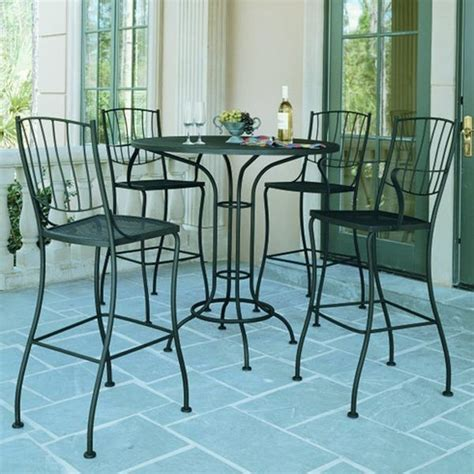 Patio Table And Chair Sets Patio Bistro Table And Chair Set Outdoor Pub And Bistro Sets Chicago By Home Infatuation