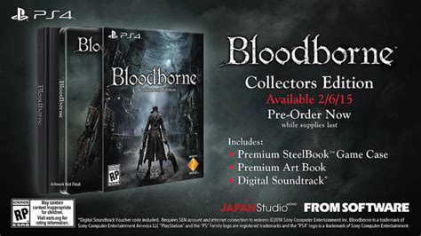 bloodborne collectors edition strategy 3869930691 bloodborne s western release date confirmed special edition revealed ign