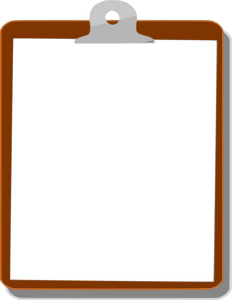 Clipboard Clipart by Clipboard Background After School Resources Clip