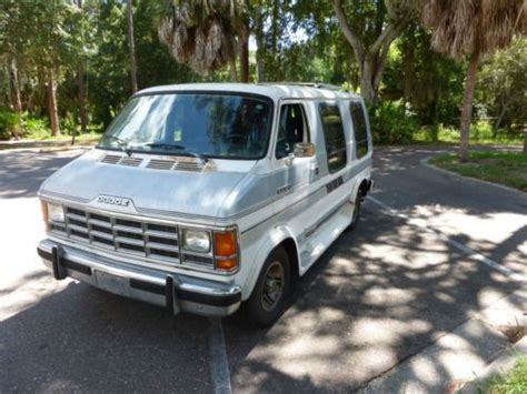 how petrol cars work 1993 dodge ram van find used dodge ram van 250 6 cyl 3 9l great work van trailer hook up good on gas in largo