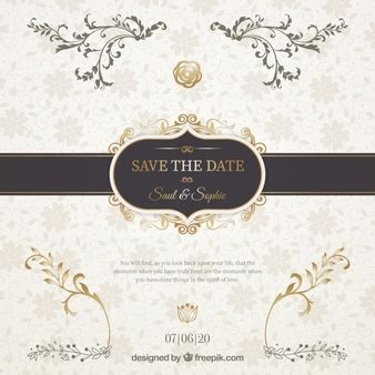 Wedding Invitation Freepik by Invitation Card Vectors Photos And Psd Files Free
