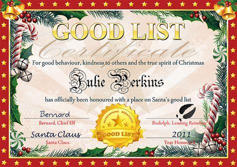 free printable santa certificate template santa certificate tempelate new calendar template site