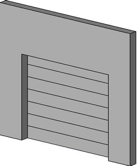 overhead sectional door revitcity com object overhead sectional door