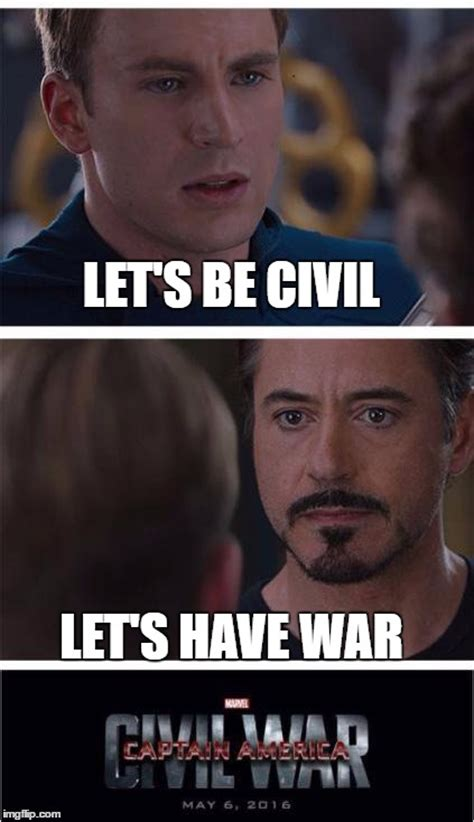 Meme Generator Civil War - marvel civil war 1 meme imgflip