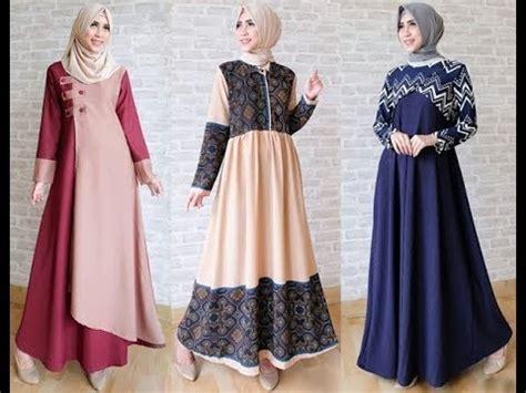 Baju Muslim Lebaran Simple trend model baju muslim lebaran 2018 casual simple dan modern