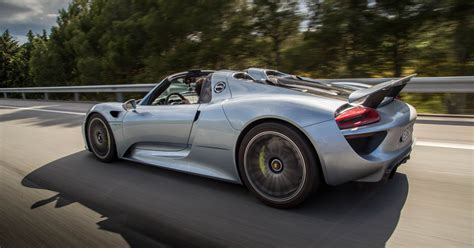 Porsche 918 Electric by Don T Expect The All Electric Porsche 918 Successor To