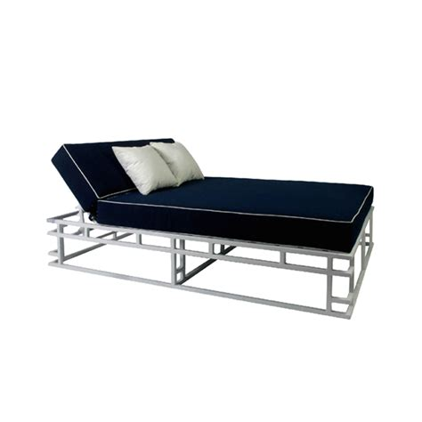 Two Sided Chaise Lounge Chaise Dde Outdoor Furniture