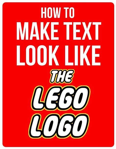 best 25 lego font ideas on pinterest lego birthday